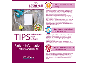 Top ten tips to improve your fertility